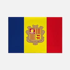 Andorra Rectangle Magnet