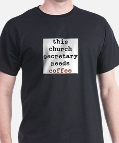 Funny Church secretary T-Shirt