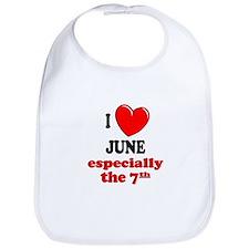 June 7th Bib
