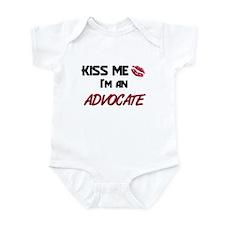 Kiss Me I'm a ADVOCATE Infant Bodysuit