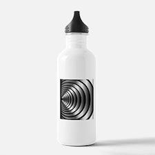 High tech metallic rin Water Bottle