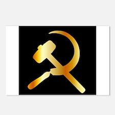 Communism Symbol Postcards (Package of 8)