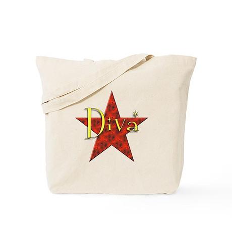Diva - Hot Lava Tote Bag