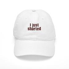 I JUST SHARTED SHIRT FUNNY BI Baseball Baseball Cap