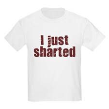 I JUST SHARTED SHIRT FUNNY BI T-Shirt