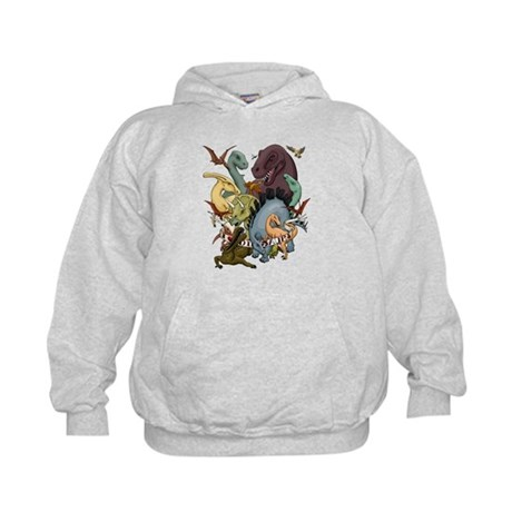 I Heart Dinosaurs Kids Hoodie