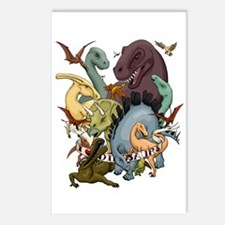 I Heart Dinosaurs Postcards (Package of 8)