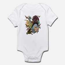 I Heart Dinosaurs Infant Bodysuit