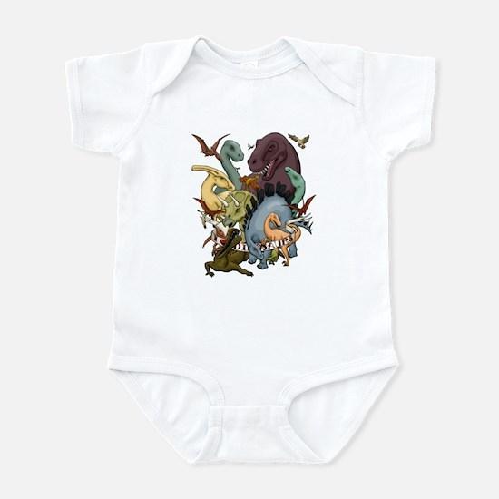 I Heart Dinosaurs Infant Bodysuit