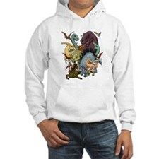 I Heart Dinosaurs Hoodie