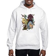 I Heart Dinosaurs Hoodie Sweatshirt