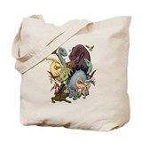 Dinosaur Canvas Bags