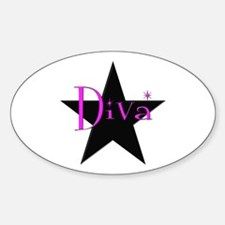 Black Star Diva Decal