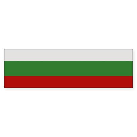 """Bulgaria Flag"" Bumper Sticker"
