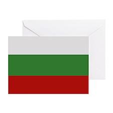 """Bulgaria Flag"" Greeting Cards (Pk of 10)"