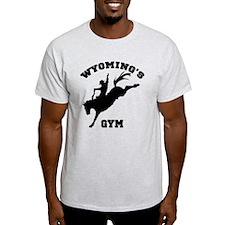 Wyoming's Bronc01 Gym T-Shirt