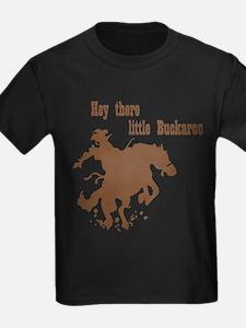 Retro Buckaroo Cowboy Western T-Shirt