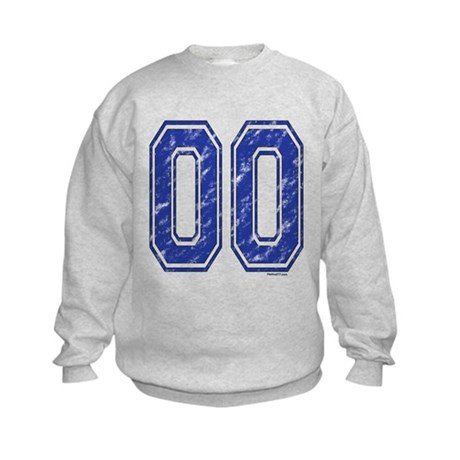 00 Jersey Year Kids Sweatshirt