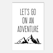 Let's Go On An Adventure Postcards (Package of 8)