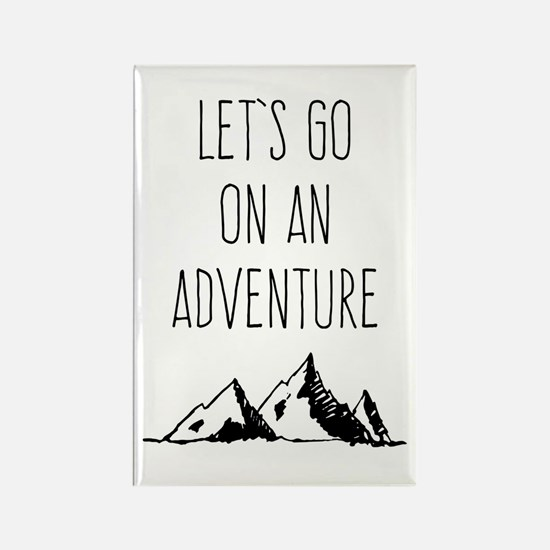 Let's Go On An Adventure Magnets