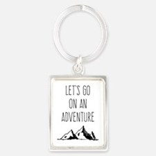 Let's Go On An Adventure Keychains