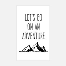 Let's Go On An Adventure Decal
