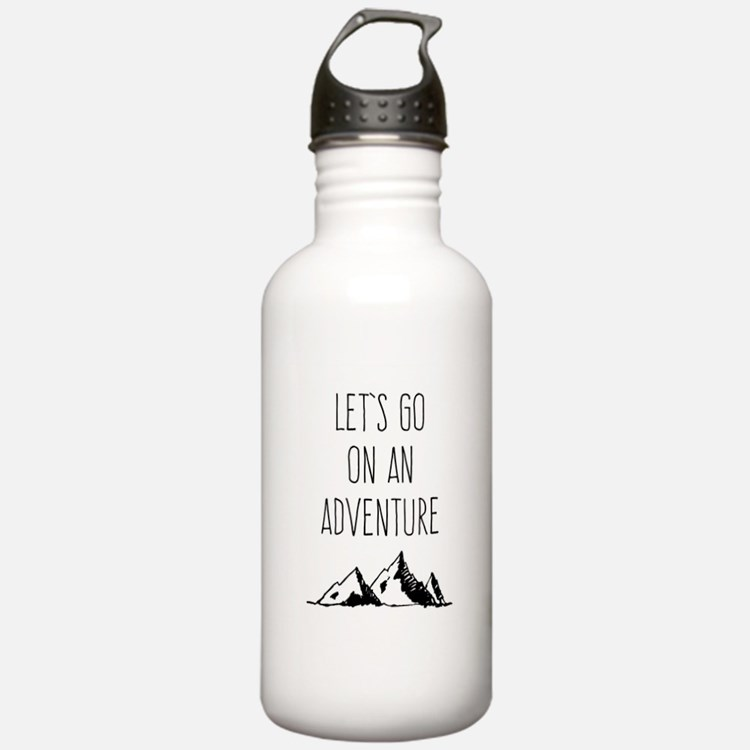 Let's Go On An Adventure Water Bottle