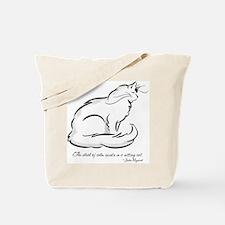 Ideal of Peace Cat Tote Bag