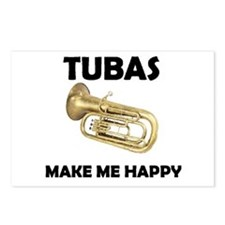 HAPPY TUBA Postcards (Package of 8)