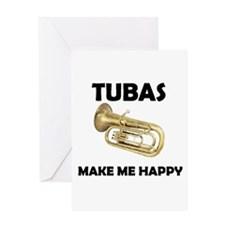 HAPPY TUBA Greeting Card