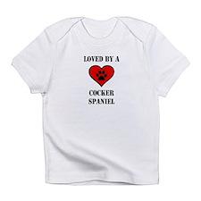 Cute Cocker spaniel Infant T-Shirt