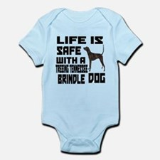 Life Is Safe With A Treeing Tenne Infant Bodysuit