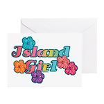 Island Girl Greeting Cards (Pk of 10)