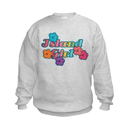 Island Girl Kids Sweatshirt
