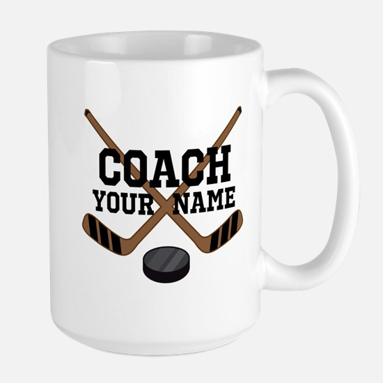 Hockey Coach Personalized Mugs