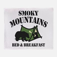 Smoky Mountains Throw Blanket