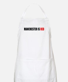 Manchester is Red BBQ Apron