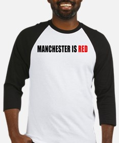 Manchester is Red Baseball Jersey