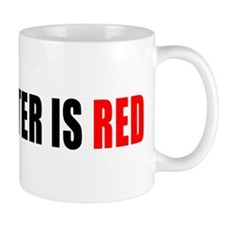 Manchester is Red Mug