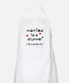 Married to a drummer : BBQ Apron