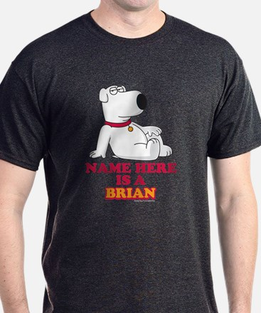 Family Guy Brian Personalized T-Shirt