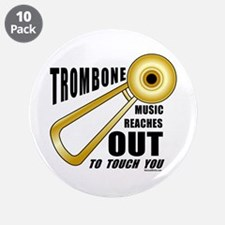 """Trombone Touch 3.5"""" Button (10 pack)"""