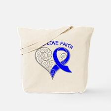 Rectal Cancer Hope Tote Bag
