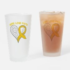 Neuroblastoma Hope Drinking Glass