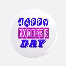 "Happy Mother's Day Designs 3.5"" Button (100 pack)"