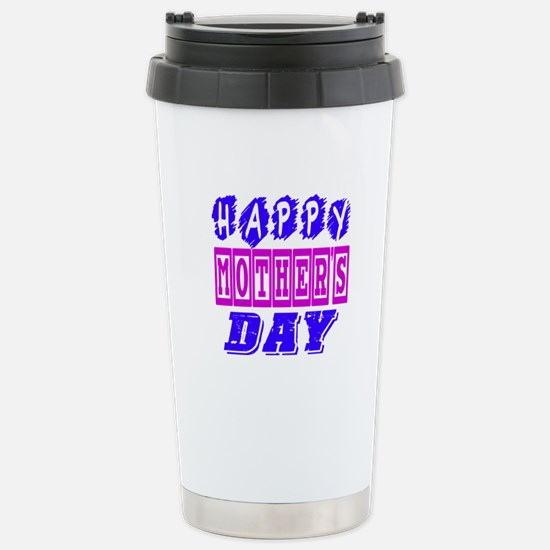 Happy Mother's Day Desi Stainless Steel Travel Mug