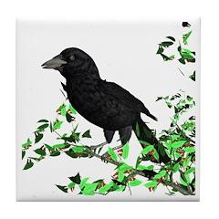 Raven Tile Coaster