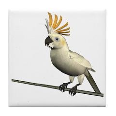 Cockatoo Tile Coaster