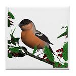 Bullfinch (male) Tile Coaster