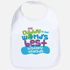 History Teacher Gifts for Kids Bib